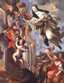 Beata Mafalda salva o convento do incêndio, pormenor (c. 1704-25) - Giovanni Odazzi (Museu de Arte Sacra de Arouca, Diocese do Porto).png