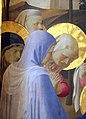 Beato angelico, pala strozzi della deposizione, con cuspidi e predella di lorenzo monaco, 07.JPG