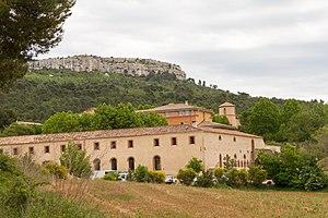Beaurecueil - The château in Beaurecueil