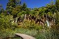 Beautiful waterfall in Plitvice Lakes National Park in Croatia.jpg