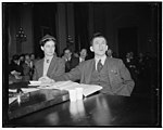 Before Dies Committee. Washington, D.C., Dec. 1. The Dies Committee Investigating un-American activities today questioned Joseph P. Lash, Executive Secretary of the American Students' Union, LCCN2016876692.jpg