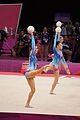 Belarus Rhythmic gymnastics team 2012 Summer Olympics 07.jpg