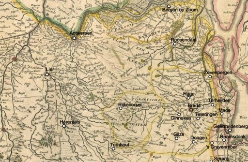 Beleg van Breda 1624 Omgeving Breda