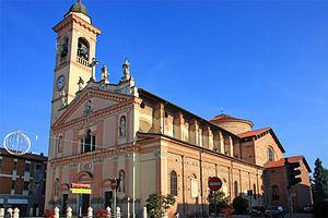 Bellinzago Novarese - Image: Bellinzago Nse parrocchiale