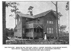 Byrd Spilman Dewey - The Boynton, Florida Home of Byrd S. Dewey and Fred S. Dewey called Ben Trovato