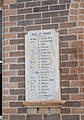 Ben Lomond Soldiers Memorial Hall WWI Roll of Honour A.JPG