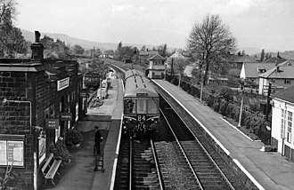 Ben Rhydding railway station - The station in 1961