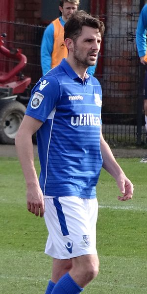 Ben Strevens - Strevens playing for Eastleigh in 2017