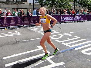 Benita Willis - Willis at the London 2012 Olympics