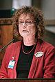 Bente Dahl, Det Radikale Venstre (RV) Danmark, talar vid Nordiska radets session i Helsingfors 2008-10-27.jpg