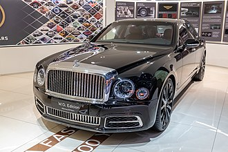 Bentley Mulsanne (2010) - Mulsanne W.O. Edition