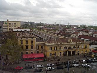 Belgrade Main railway station - Station building and surroundings