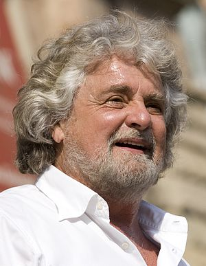 European Parliament election, 2014 (Italy) - Image: Beppe Grillo 3