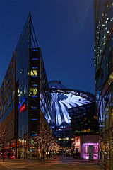 Potsdamer Platz Sony Center
