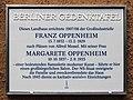 Berliner Gedenktafel Zum Heckeshorn 38 (Wanns) Franz Oppenheim.jpg