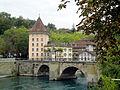 Bern Untertorbrücke und Felsenburg DSC05601.jpg