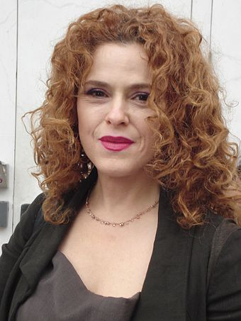 Peters in 2011 at the Kennedy Center Bernadette Peters at performance of Follies.jpg