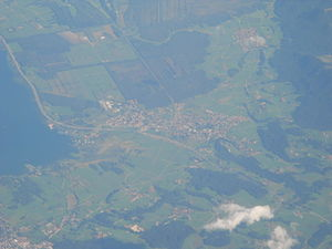 Bernau am Chiemsee -  Aerial view