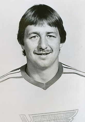 St. Louis Blues - Drafted by the Blues in 1976, Bernie Federko played with the team from 1976 to 1989. He holds the record for games played with the Blues.