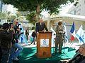 Bertrand Delanoë in The inauguration ceremony renovation Paris Square in Haifa (5).jpg