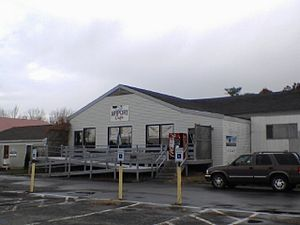 Beverly Regional Airport - Originally the Beverly Airport Cafe, renamed Something Different cafe located at the Beverly Airport.