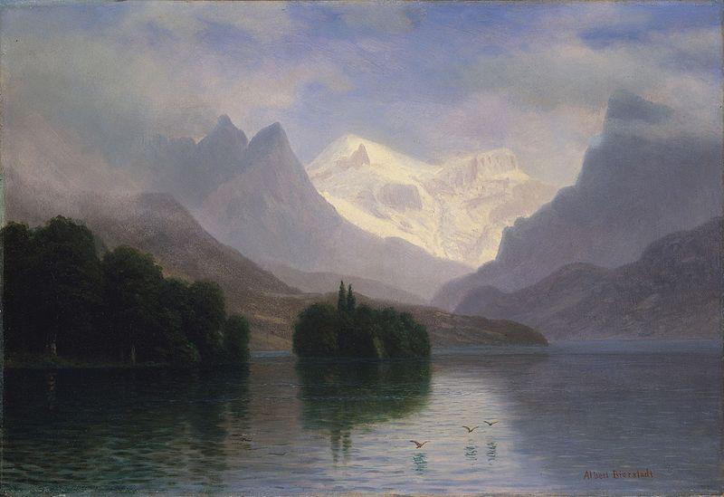 File:Bierstadt Albert Mountain Scene.jpg