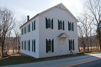 National Register of Historic Places listings in Boone County, Kentucky - Image: Big Bone Methodist