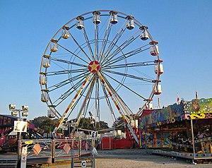 English: Big wheel Part of Hull Fair, which oc...