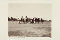 """Bild från familjen von Hallwyls resa genom Algeriet och Tunisien, 1889-1890. """"Biskra (kamelkaravan) - Hallwylska museet - 91948.tif"""