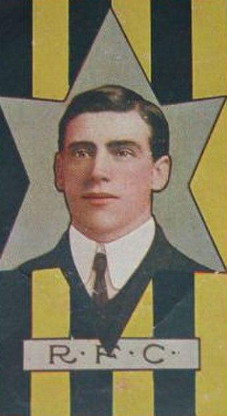 Bill Burns (footballer) - Image: Bill Burns Richmond