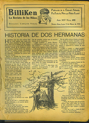 Editorial Atlántida - A 1933 issue of the children's periodical, Billiken