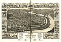 Bird's eye view of the 1881 city of Holyoke, and village of South Hadley Falls, Mass. LOC 75694582.jpg