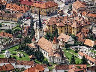 Șcheii Brașovului heritage site in Braşov County, Romania
