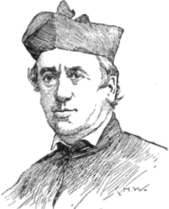 Michael O'Connor (bishop) - A lithograph portrait of Bishop Michael O'Connor from The National Cyclopaedia of American Biography