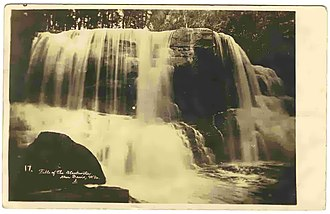Blackwater Falls State Park - Blackwater Falls, Circa 1910