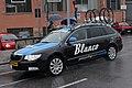 Blanco Pro Cycling Team car, Milan-Sanremo 2013, Savona.jpg