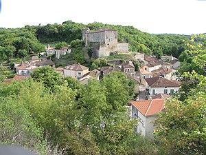 Blanquefort-sur-Briolance - A general view of Blanquefort-sur-Briolance