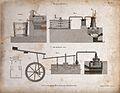 Bleaching; vats and cauldrons for bleaching cloth. Engraving Wellcome V0024199.jpg