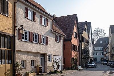 Blick in die Madergasse in Tübingen Richtung Osten 2019.jpg