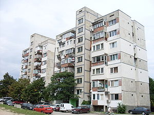 Todor Zhivkov - Large-scale industrialization caused many laborers to move from rural to urban areas, which required the construction of numerous pre-fabricated apartment buildings such as this one in Sofia