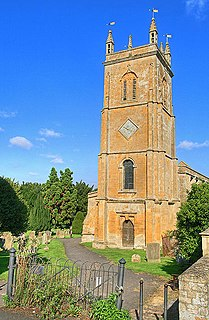 Church of St Peter and St Paul, Blockley Church in Gloucestershire, England