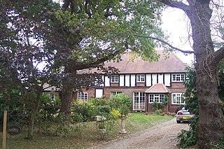 Radfall village in United Kingdom