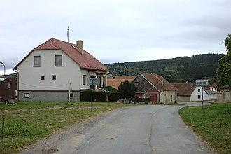 Bořetice (Pelhřimov District) - Image: Bořetice, domy