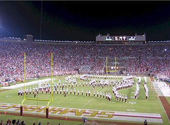 alt=Description de l'image Bobby Bowden Field.jpg.