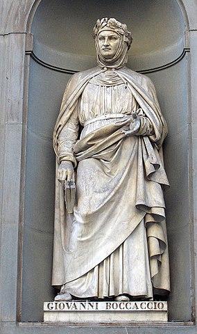 Джованни Боккаччо. Статуя у дворца Уффици