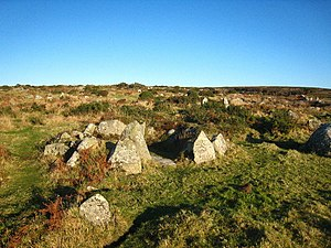 Bodrifty - Image: Bodrifty Iron Age settlement geograph.org.uk 1617172