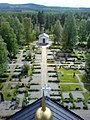 Bodums kyrka i Rossön Kyrkogården.jpg