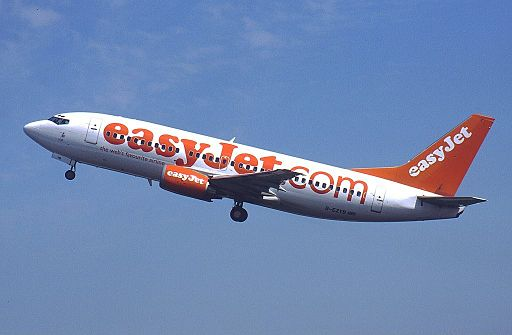 Boeing 737-3M8, EasyJet Airline AN0167056