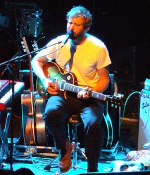 Bon Iver - Vernon performing with Bon Iver in Shepherd's Bush, London, UK in 2008