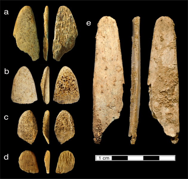 File:Bone tools used by Neanderthals.webp